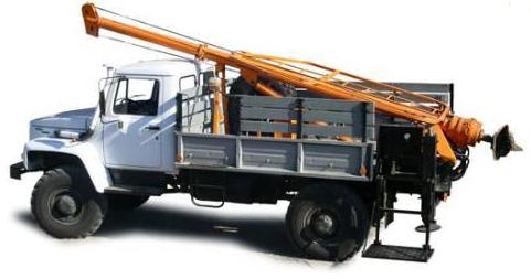 БКМ-317 на базе ГАЗ-3308 вездеход